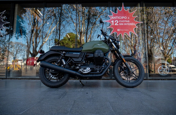 Moto Guzzi V7 Iii Stone Verde - Motoplex San Isidro