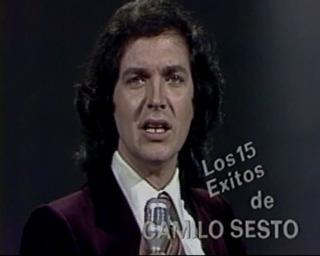 Camilo Sesto Programa Los 15 Exitos De Camilo Sesto 1981