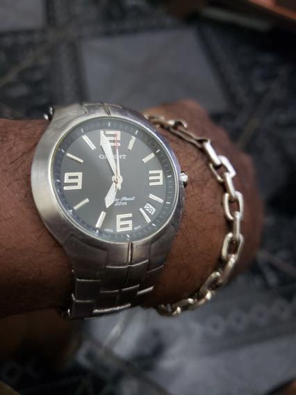 Relógio Original Orient Quartz 50m Water Resist