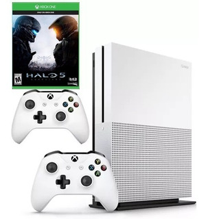 Xbox One Slim 1tb + 2 Controles + Halo 5 + Envio