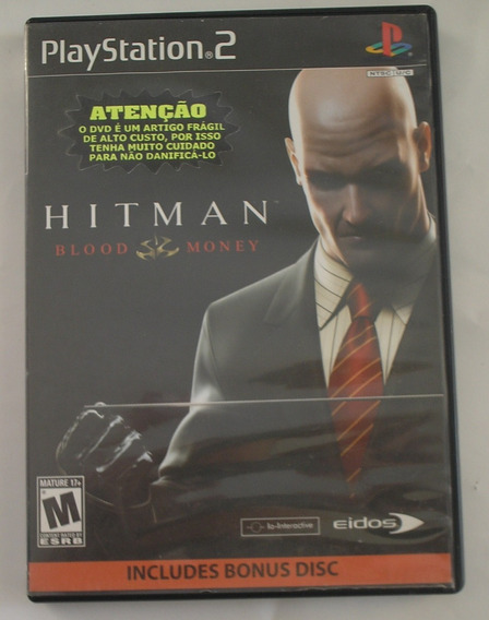Hitman Blood Money Ps2 Original Usado