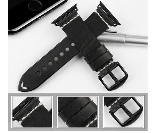 Smart Watch - Novas Pulseiras Em Couro Tamanho 42 E 44mm