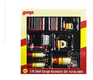 Accesorios Para Taller Diorama Esc 1:18 Shell