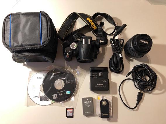 Camara Nikon D3000 Completa