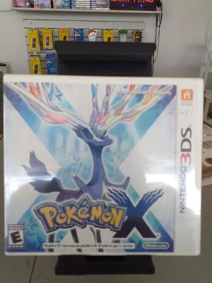 Jogo Nintendo 3ds Pokemon X Midia Física Novo Lacrado