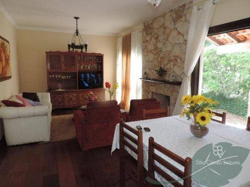 Imagem 1 de 9 de Casa Com 3 Dormitórios À Venda, 180 M² Por R$ 620.000,00 - Granja Viana - Carapicuíba/sp - Ca0429