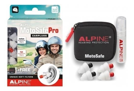 Alpine Motosafe Pro - Protetor Auricular Motociclista