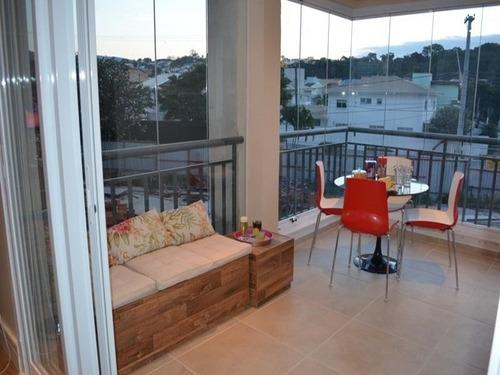 Apartamento Totalmente Reformado Jardim Santa Teresa Residencial Montalto 117m2 2 Suites 2 Vagas Lazer Completo - Ap0244 - 33515044