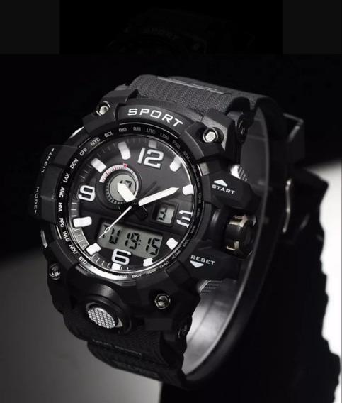 Relógio Masculino Militar Esportivo Digital