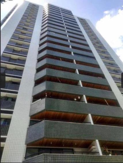 Apartamento Em Espinheiro, Recife/pe De 150m² 3 Quartos Para Locação R$ 4.000,00/mes - Ap396744