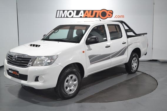Toyota Hilux 2.5 Tdi D/c 4x4 Dx Pack M/t 2014 -imolaautos