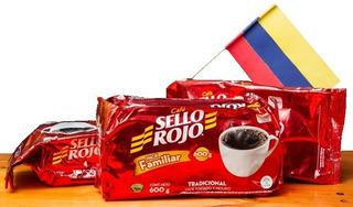 Café Colombiano Sello Rojo 600gr Producto Colombiano