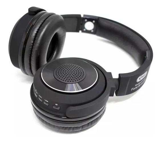 Fone De Ouvido Bluetooth 4.2 Híbrido 2/1 Knup Kp-436 Moderno