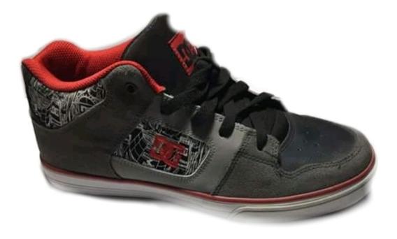 Tenis Dc Shoes En Gris