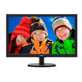 Monitor Led Philips 21.5 Polegadas Widescreen Hdmi 223v5lhsb