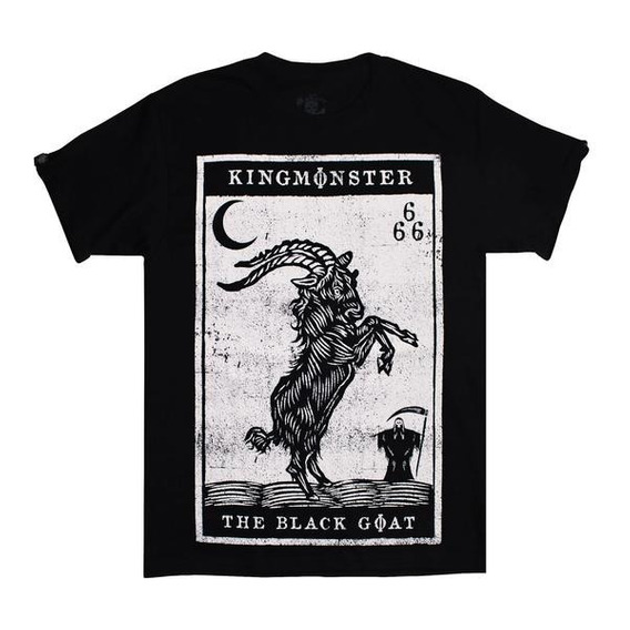 Playera Black Goat /kingmonster