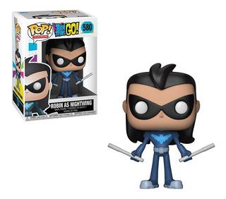 Funko Pop Tv Teen Titans Go Robin As Nightwing