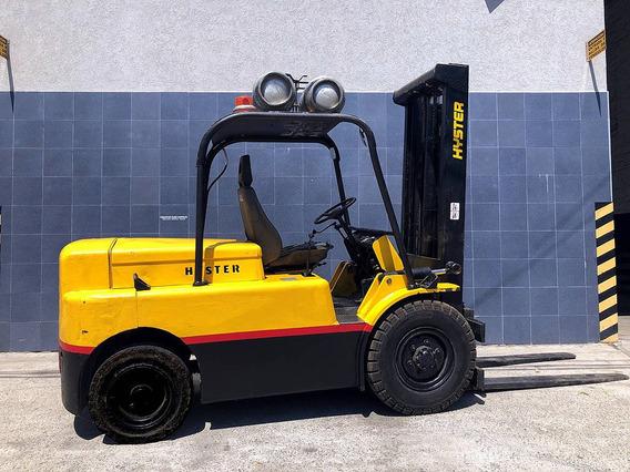 Autoelevador Hyster 4500 Kg. 4,5 Ton Nafta/gas. 5 Ton. 5000