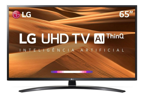 Tv 65 Polegadas LG Led Smart Wifi 4k Usb Hdmi Comando Voz