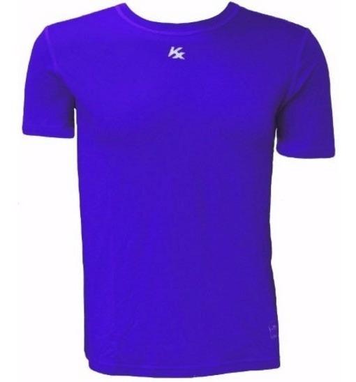 Camisa Térmica Segunda Pele Proteção Uv 50 Kanxa Manga Curta