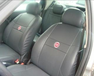Capa De Couro Para Bancos De Carro Fiat Palio 2001 2 Portas