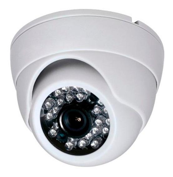 Camera Dome Hd 720p 1mp Ir 20m 2.8mm 4x1 Ahd/ Cvi/ Tvi/ Cvbs