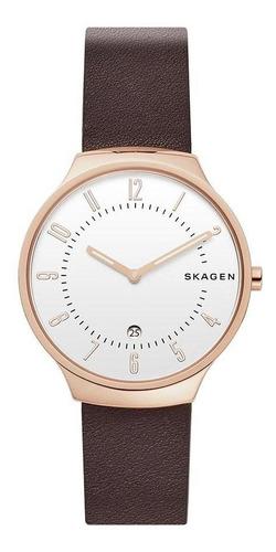 Relógio Masculino Skagen Grenen Rosé - Original