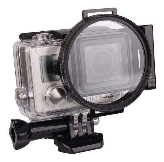 Adaptador De Filtros 58mm Em Gopro Hero 4 E 3+