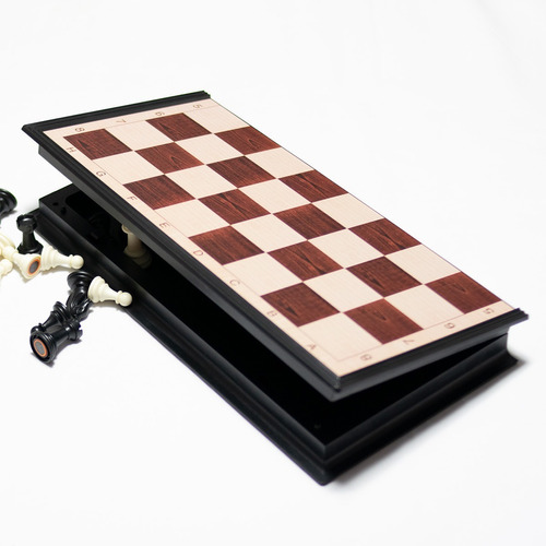 Ajedrez Tablero Magnético Plegable, Piezas Ultra Resistentes