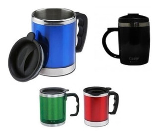 Vaso / Taza Térmico Coolers Tipo Mug Con Tapa