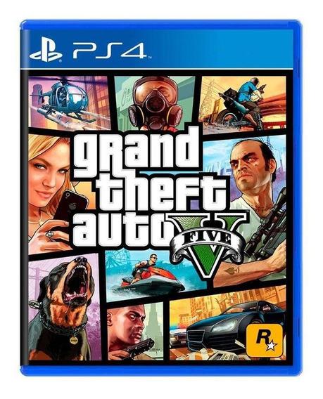 Grand Theft Auto V Gta 5 Ps4 Mídia Física Pronta Entrega
