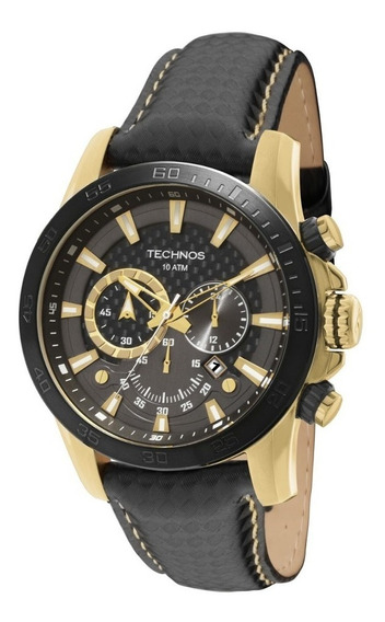 Relógio Technos Masculino Os2aaz/0p Fibra De Carbono