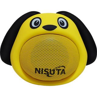 Parlante Portátil Bluetooth Doble Parlante Perro Nspa81bp