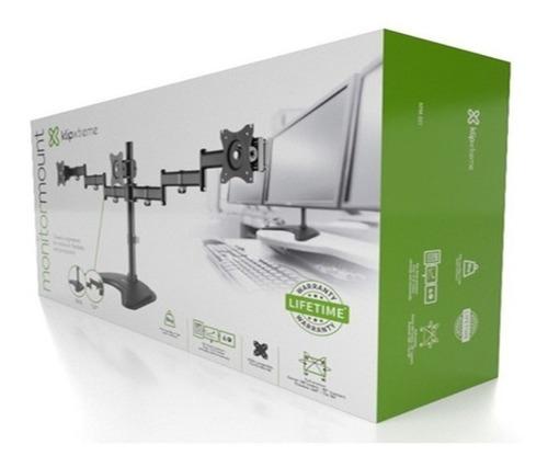 Rack Soporte Brazo 3 Monitores Escritorio 13 -27 Klip Xtreme
