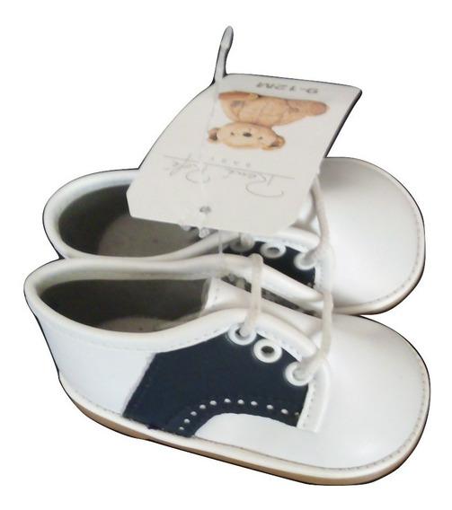 Zapato Bostoniano Bebé Piel Sintetica Talla 11 Meses $479a