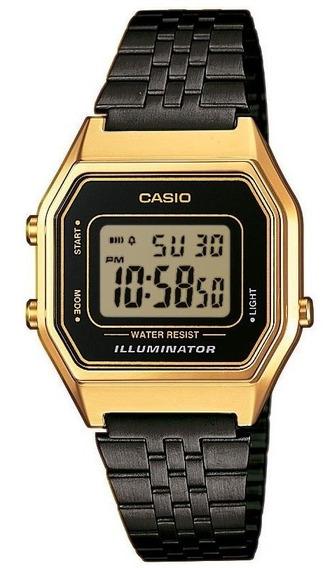Relógio Casio Vintage Retro La680wegb 1adf Frete Grtais N.f.