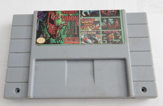 Super Nintendo 7 Jogos Em 1 Paralela