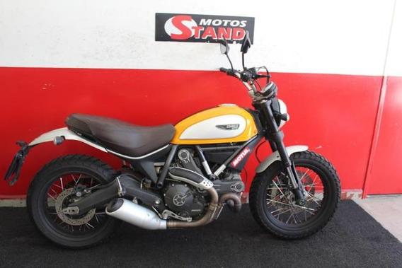 Ducati Scrambler Classic Abs 2016 Laranja