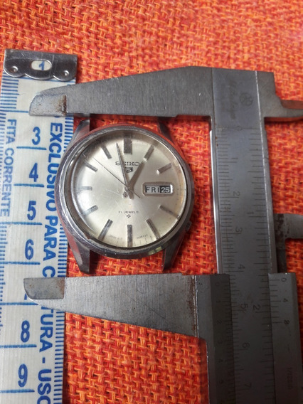 Relógio Antigo Seiko 6119 21 Jewels Automático Leia Descriçã