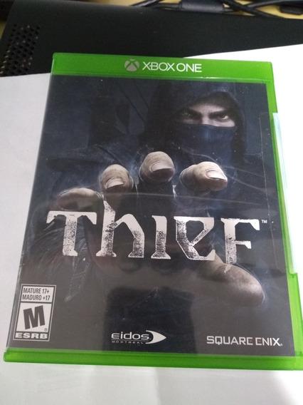 Thief Xbox One Midia Fisica Impecável Entrego No Metrô