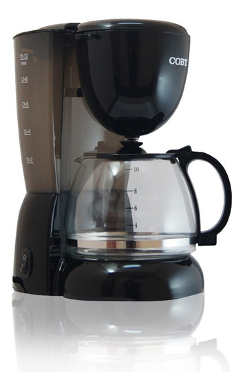 Cafetera Electrica Coby Cy3330-4277 10 Taza Negra