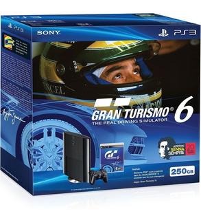 Playstation 3 Ayrton Senna Edición Limitada Origina Garantía