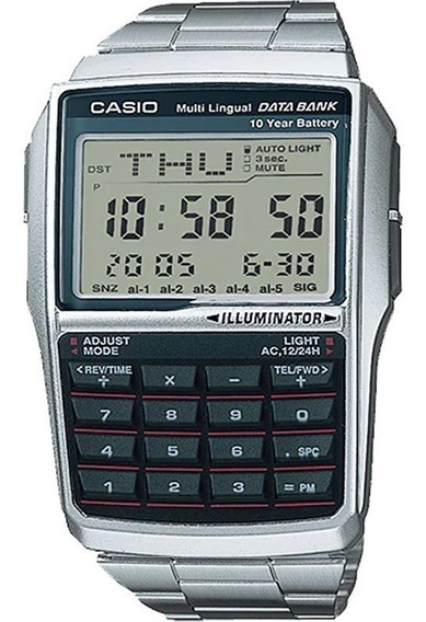 Relógio Casio Data Bank Calculadora Dbc-32d-1adf Original