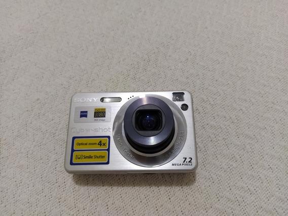 Câmera Sony W110 Nova Com Bateria ECarregador.