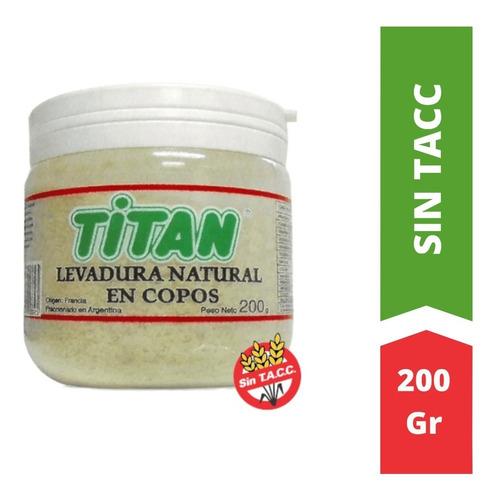 Levadura Natural En Copos Titan X 200 G - Sin Tacc