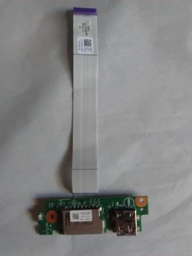 Imagem 1 de 4 de Espelho Usb/leitor De Cartão - Dell Inspiron I14-3442-a40