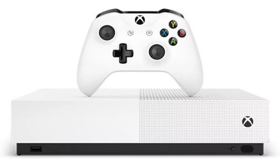 Xbox One S 1tb 4k All Digital Novo Lacrado 12x S/j