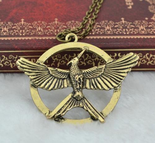 Collar Mocking Bird Juegos Del Hambre Sinsajo Fashion Potter