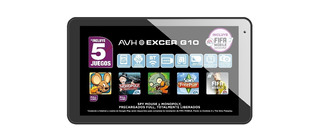 Tablet Avh Excer G10 Juegos 16gb Quad Core Android Mp3 Video