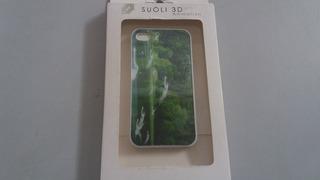 Capa Case Capinha 3d Ganso Preta iPhone 5 5s